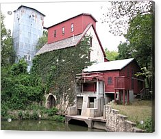 Old Oxford Mill Acrylic Print