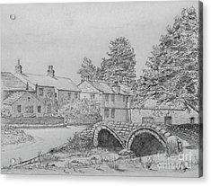 Old Packhorse Bridge Wycoller Acrylic Print