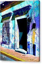 Old Paint By Darian Day Acrylic Print by Mexicolors Art Photography
