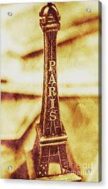 Old Paris Decor Acrylic Print by Jorgo Photography - Wall Art Gallery