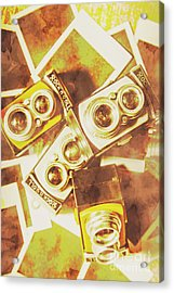 Old Photo Cameras Acrylic Print by Jorgo Photography - Wall Art Gallery