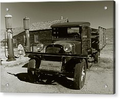 Old Pickup Truck 1927 - Vintage Photo Art Print Acrylic Print