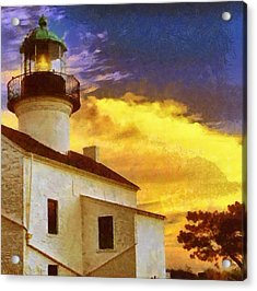 Old Point Loma Lighthouse Acrylic Print