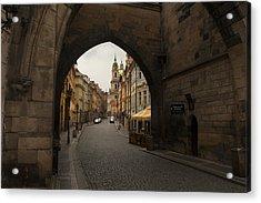 Old Prague Acrylic Print