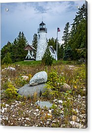 Old Presque Isle Lighthouse Acrylic Print