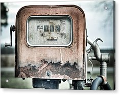 Old Pump Acrylic Print by Andrew Crispi