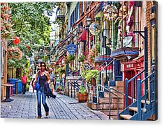 Old Quebec City Acrylic Print