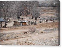 Old Ranch House Acrylic Print by Rob Hans