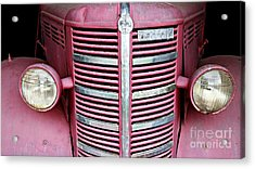 Acrylic Print featuring the photograph Old Red by Stephen Mitchell