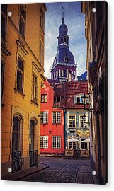 Old Riga  Acrylic Print