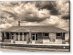 Old Rio Grande Train Stop Acrylic Print by James BO  Insogna