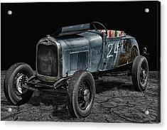 Old Roadster Acrylic Print by Joachim G Pinkawa