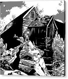 Old Rocky Mill Acrylic Print