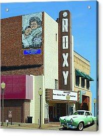 Old Roxy Theater In Muskogee, Oklahoma Acrylic Print
