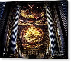 Old Royal Naval College 1 Acrylic Print by Lexa Harpell