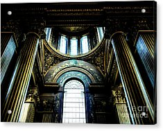 Old Royal Naval College 2 Acrylic Print by Lexa Harpell