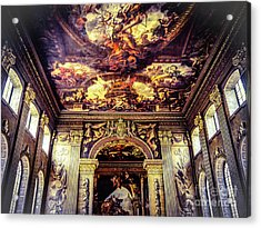 Old Royal Naval College 3 Acrylic Print by Lexa Harpell