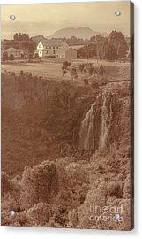 Old Rural Town Of Waratah In Tasmania Australia Acrylic Print by Jorgo Photography - Wall Art Gallery