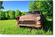 Old Rusty Car Acrylic Print