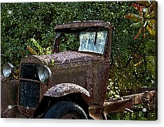 Old Rusty Acrylic Print by Ross Powell