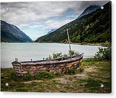 Old Sailboat Acrylic Print