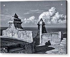 Old San Jaun Fort Acrylic Print