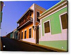 Old San Juan Acrylic Print by Dado Molina