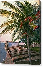 Old San Juan  Acrylic Print by George Bloise