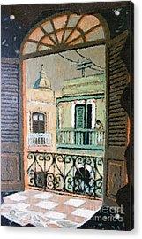 Old San Juan View Acrylic Print