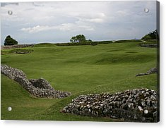 Old Sarum Acrylic Print