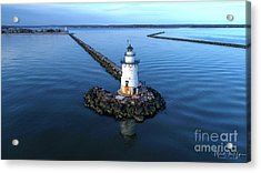 Old Saybrook Outer Lighthouse Acrylic Print