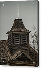 Old School Bell Tower Acrylic Print by Paul Freidlund