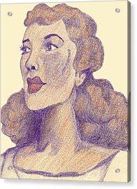 Old School Hollywood Acrylic Print by Jean Haynes