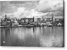 Old Seattle 1949 Acrylic Print