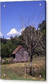 Old Shack Acrylic Print by Curtis J Neeley Jr