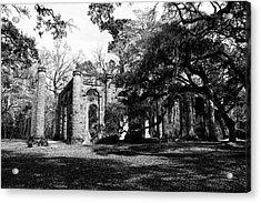 Old Sheldon Church  Acrylic Print