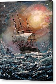 old Ship of Zion Acrylic Print