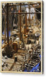 Old Ship Acrylic Print by Stefano Senise