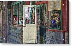 Old Shop Acrylic Print by Barb Hauxwell