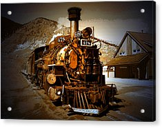 Old Silverton Acrylic Print by David Lee Thompson