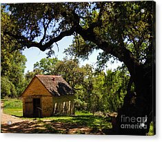 Old Smokehouse Acrylic Print