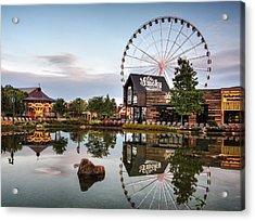 Ole Smoky Tennessee Moonshine Reflection Acrylic Print