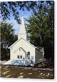 Old St. Andrew Church Acrylic Print by Rick McKinney