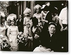 Old St Patricks   Mulberry Street Wedding Acrylic Print