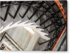 Old Stairs Acrylic Print