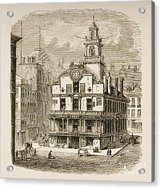 Old State House, Boston Acrylic Print