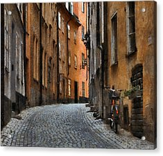 Old Stockholm Acrylic Print