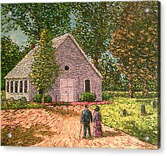 Old Stome Church Acrylic Print by Frank Morrison