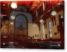 Old Stone Church -2 Acrylic Print by David Bearden