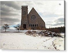 Old Stone Church Acrylic Print by Sue OConnor